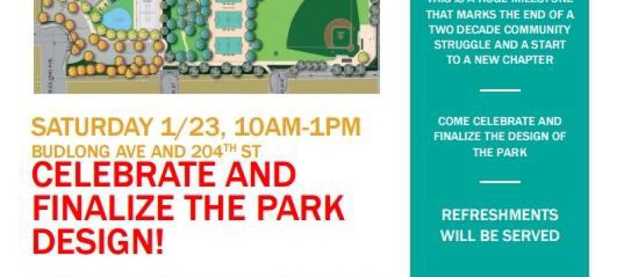 Celebrating New Park
